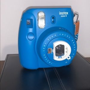 Instax mini 9 (blue) - perfect for Christmas!